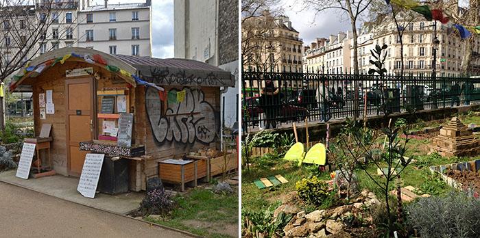 Citytrip Parijs deel 2 Tuintje
