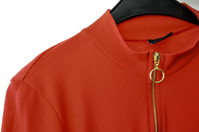 stockholm & parijs shoplog - gina tricot rood