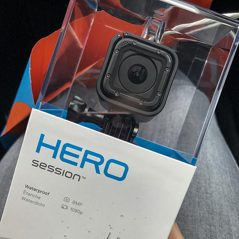 Terugblik op juni - go pro hero session