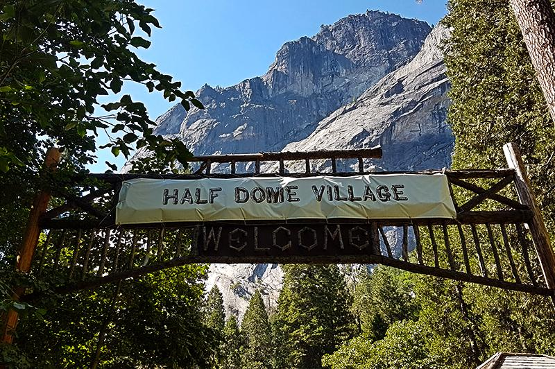 Yosemite National Park - Half dome village