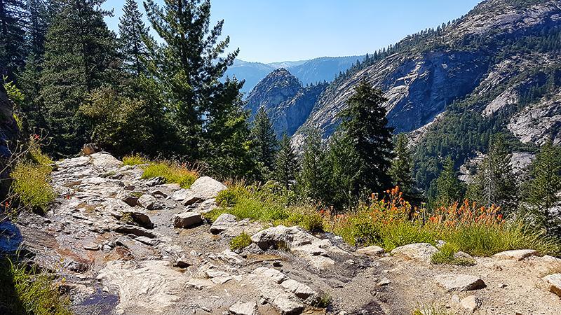 Yosemite National Park John Muir Trail
