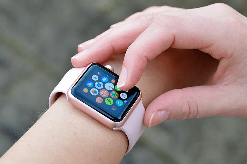 Apple Watch menu