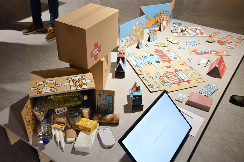 Dutch Design Week 2017 Graduation Show - inside the box