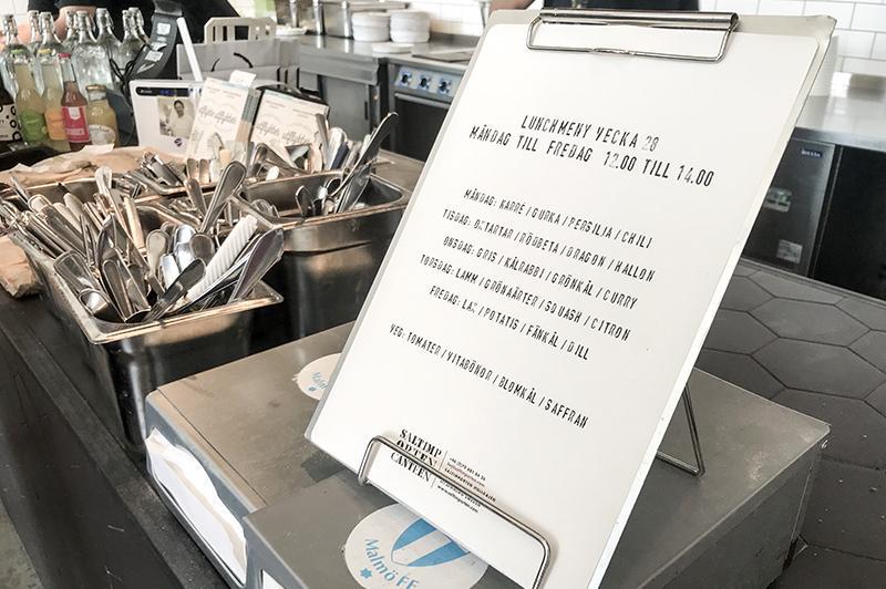 Saltimporten Canteen - menu