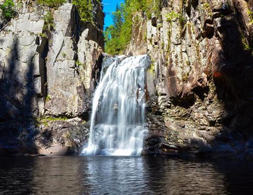 Trollfoss waterval