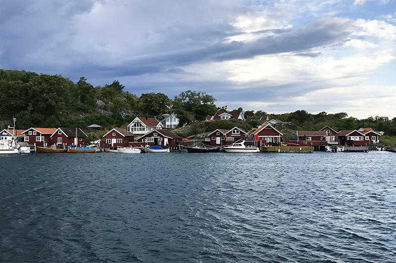 Kosterhavet national park baai