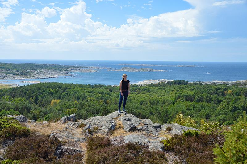 Kosterhavet national park viewpoint north koster