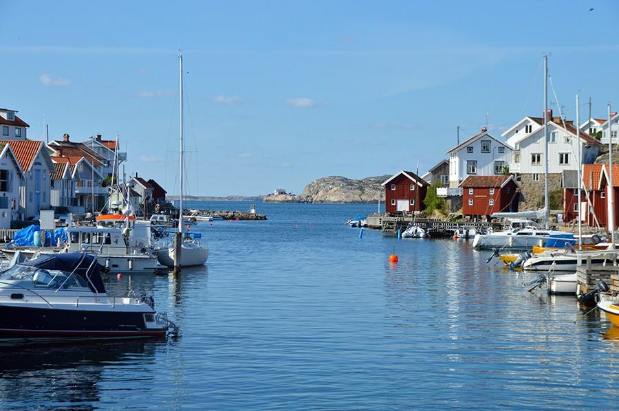 Gullholmen uitzicht - West-Zweden