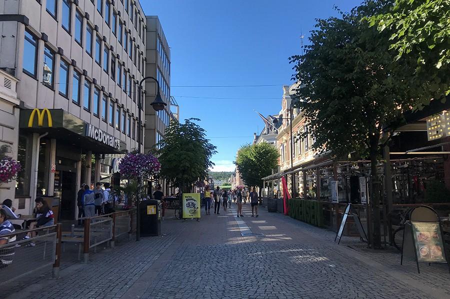 Kristiansand - shopping