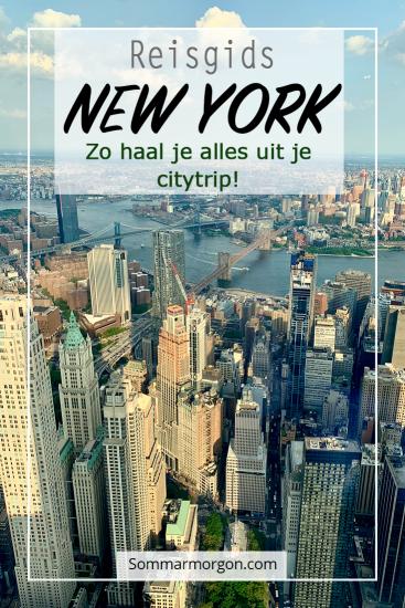 Pinterest Citytrip New York - sommarmorgon.com