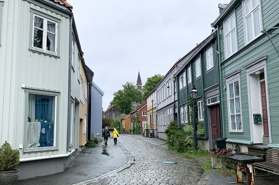 Wandeling Bakklandet, Trondheim - sommarmorgon.com