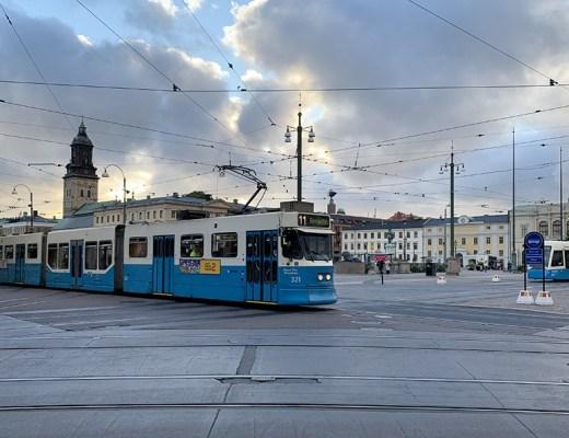 Wat te doen tijdens een stedentrip Göteborg - Neem de tram