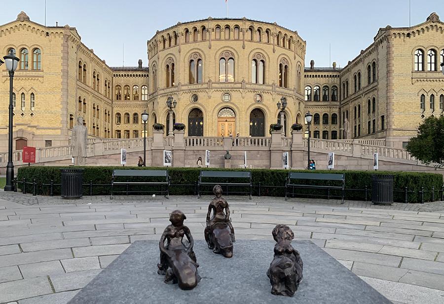 Ontdek Oslo - Storinget - sommarmorgon.com