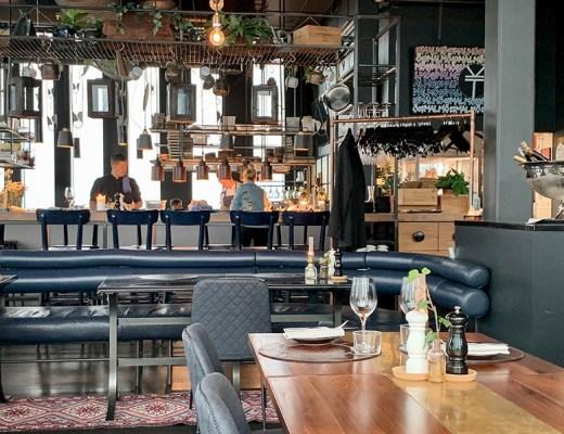Beleef Malmö vanaf grote hoogte in restaurant Kitchen & Table + Skybar