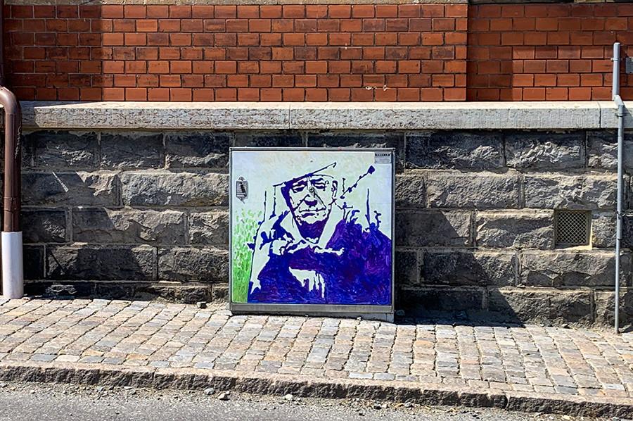 Street art in Simrishamn - sommarmorgon.com