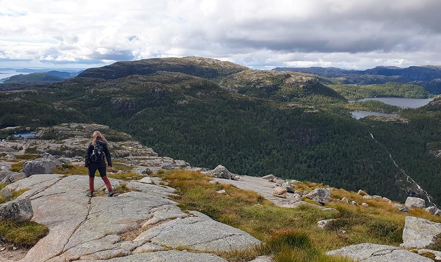 Hill trail Noorwegen - sommarmorgon.com