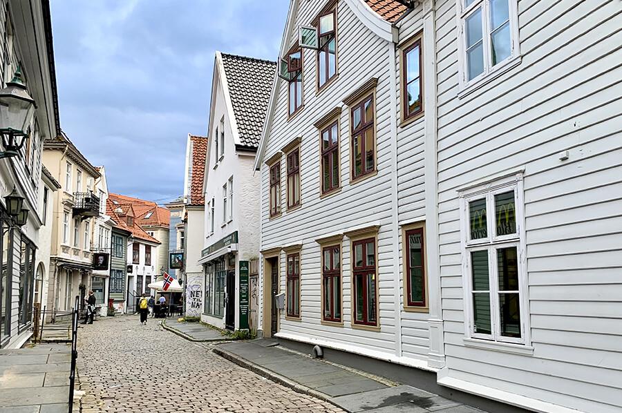 Het centrum van Bergen