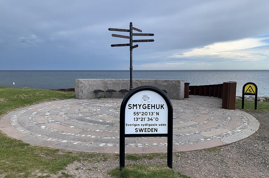 Een bezoekje aan Smygehuk – het zuidelijkste punt van Zweden