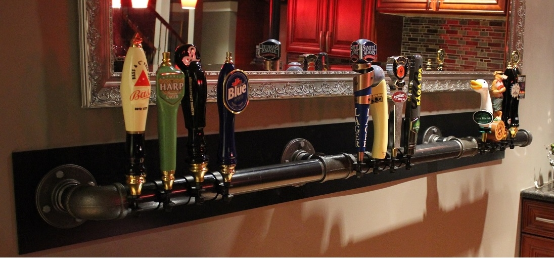 How to Build a Beer Tap Display – DIY Home Bar | SommBeer