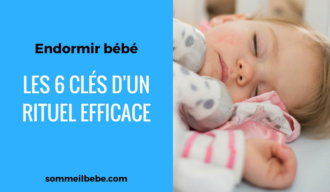 Endormir bébé : les 6 clés d'un rituel efficace