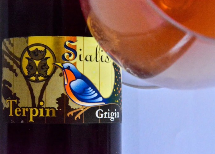 Franco Terpin Salis Pinot Grigio Sommelier life Gourmet Life