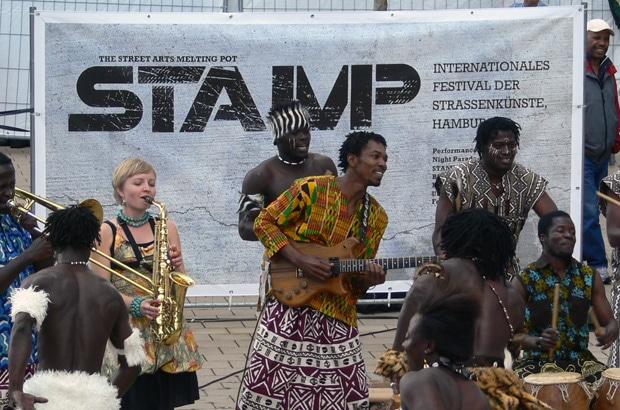 STAMP African Footstamp International Ghana
