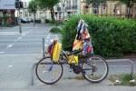 Obdachlosen-Fahrrad