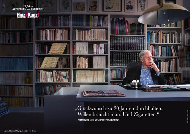 Helmut Schmidt fotografiert von Ivo von Renner