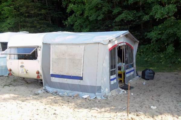 Camping in Hamburg