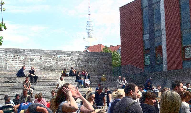 Lattenplatz Knust Hamburg