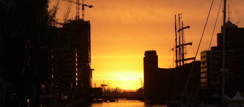 Sommer in der HafenCity Hamburg 2013