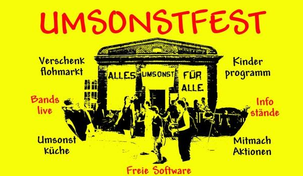 Umsonstfest Juni 2014