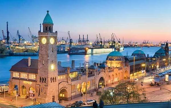 Junggesellenabschied am Hamburger Hafen