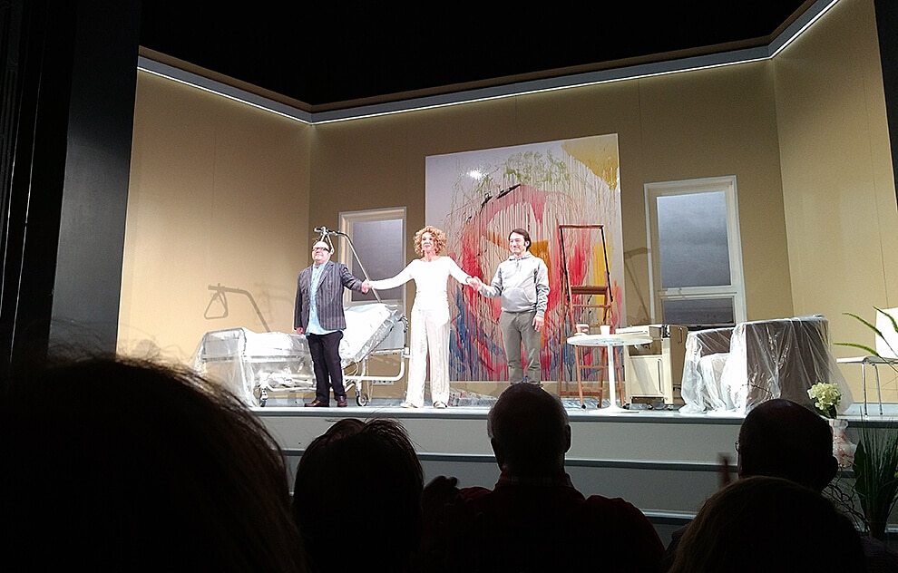 Theaterstück 4000 Tage im St. Pauli Theater