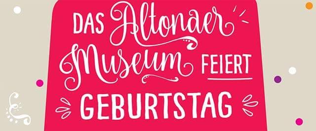 154. Geburtstag Altonaer Museum