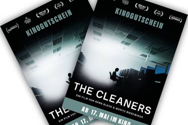 Kinogutscheine für THE CLEANERS