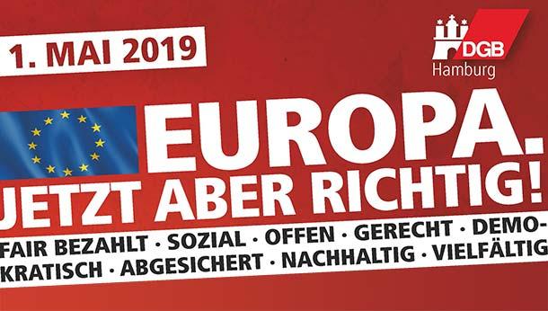 1. Mai Demo in Hamburg