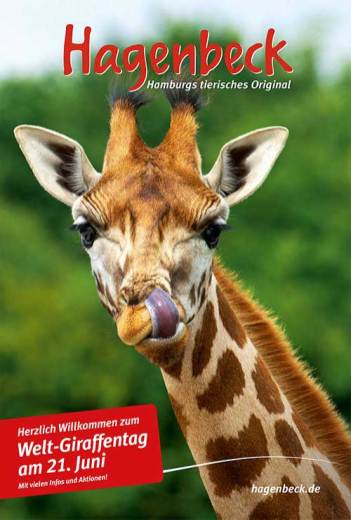 Welt-Giraffentag Plakat