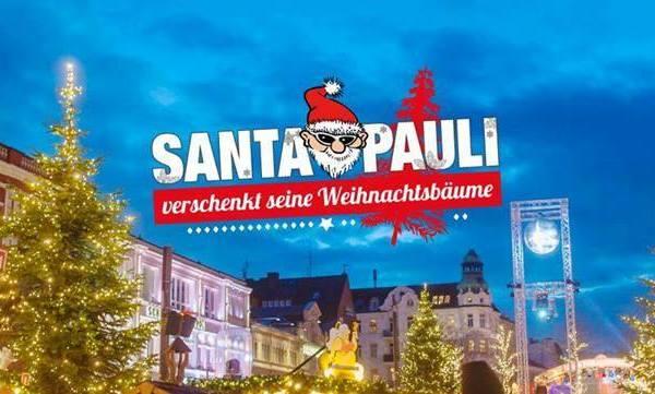 Santa Pauli verschenkt seine Tannenbäume