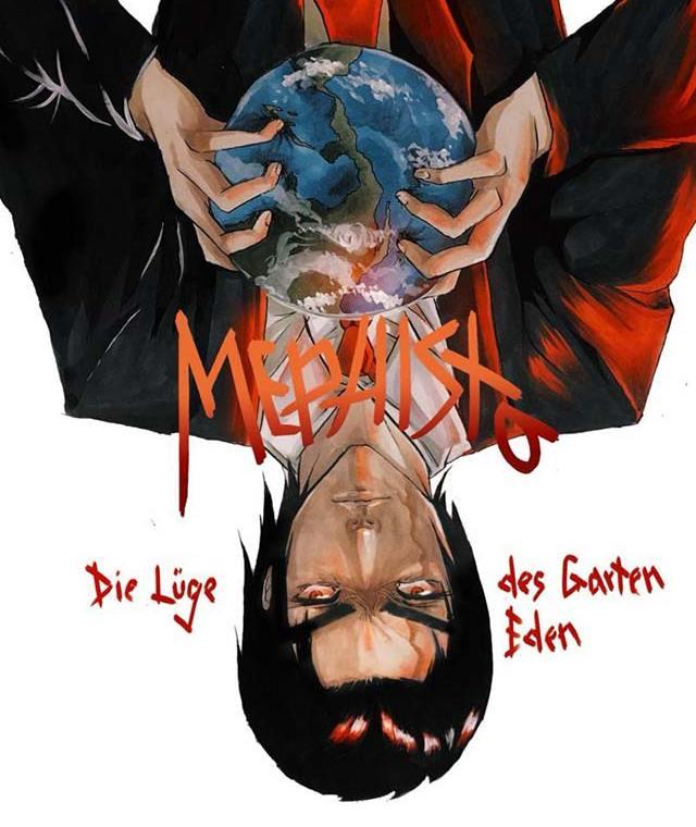 Buchcover: Mephisto - Die Lüge des Garten Eden