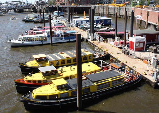 Landungsbrücken: Große Hafenrundfahrt Hamburg