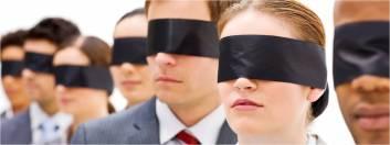 BLINDFOLDED GROUP