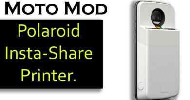 Motorola Polaroid printer for your phone