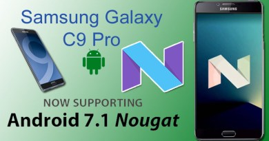 Samsung Galaxy C9 Pro How to upgrade to Android 7.1.1 Nougat