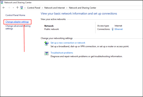 Change Default DNS to Google and double your Internet speed Now-Change adapter setting