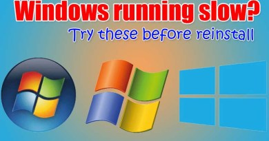Windows running slow Speed up with these 6 Methods