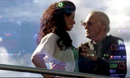 Stan Lee cameo in Guardians of the Galaxy (2014)