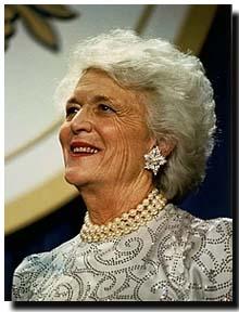 Barbara Bush dies on april 23rd 2018