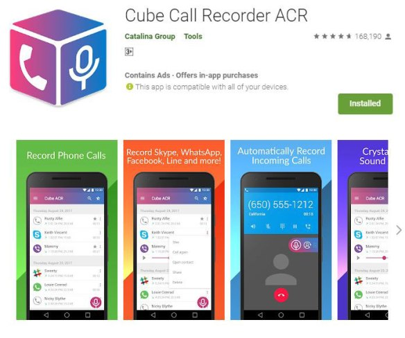 Record-whatsapp-calls with Audio on Android