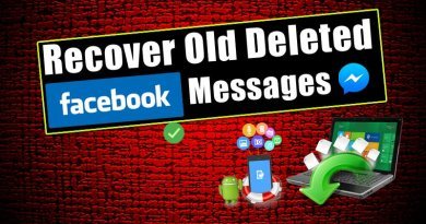 Recover Old Deleted Facebook Messages on PC and Android